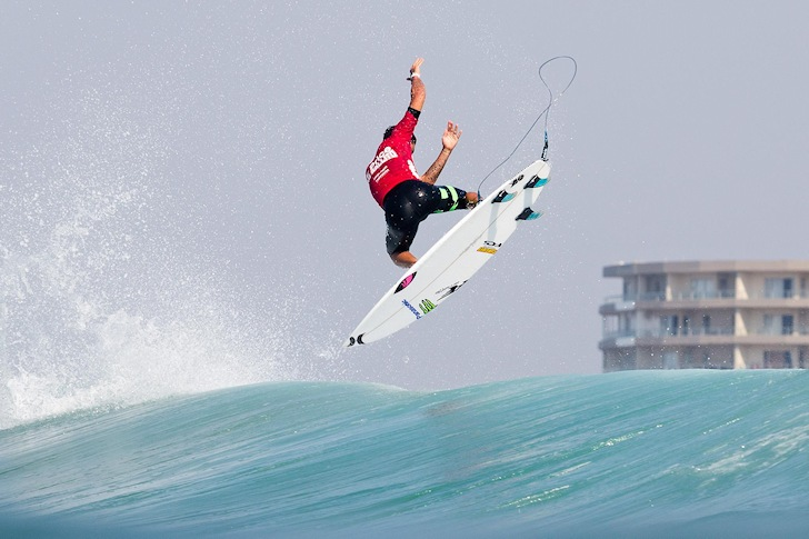 Filipe Toledo: hang time in South Africa