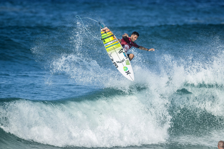Filipe Toledo: a dominant performance in front of his home crowd | Photo: Poullenot/WSL