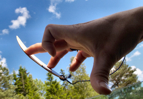 Fingersurfing: air tricks with your fingers