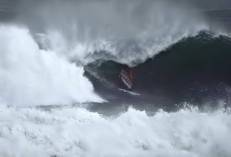 Finn Mullen: slightly pitted at Mullaghmore Head