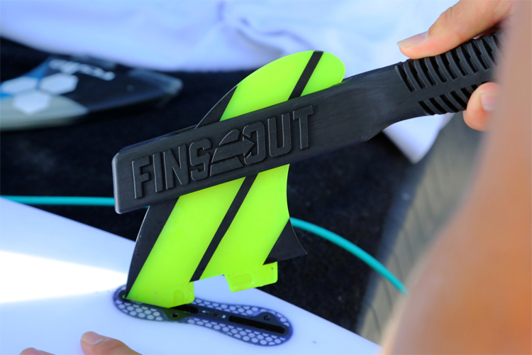 FinsOut: the world's first fin removal tool | Photo: FinsOut