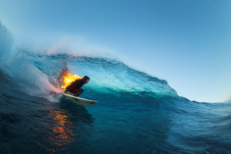 Jamie O'Brien: fired up | Photo: Red Bull