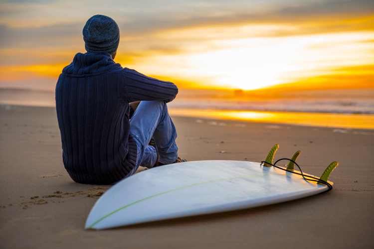 Surfboards: whenever possible, keep your first surfboard for the rest of your life | Photo: Shutterstock