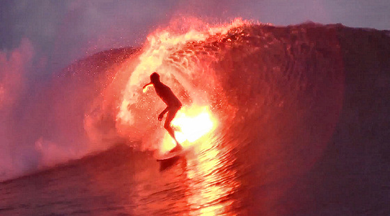 Bruce Irons: lighting up the stoke