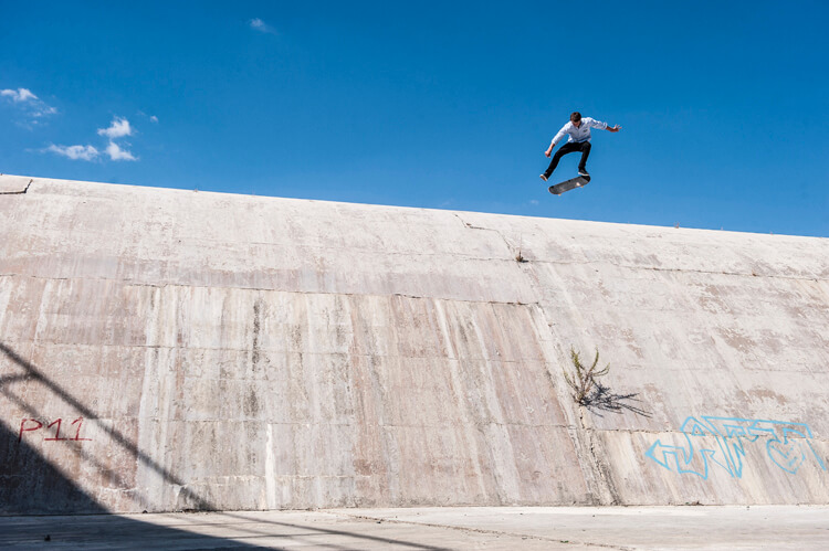 Laser flip: one of the hardest skateboard tricks ever invented | Photo: Red Bull