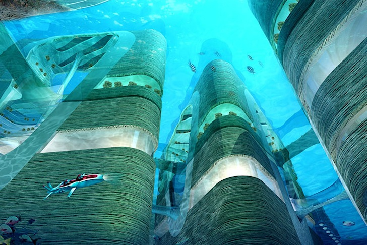 Architects Design The Ultimate Atlantis Like Underwater City