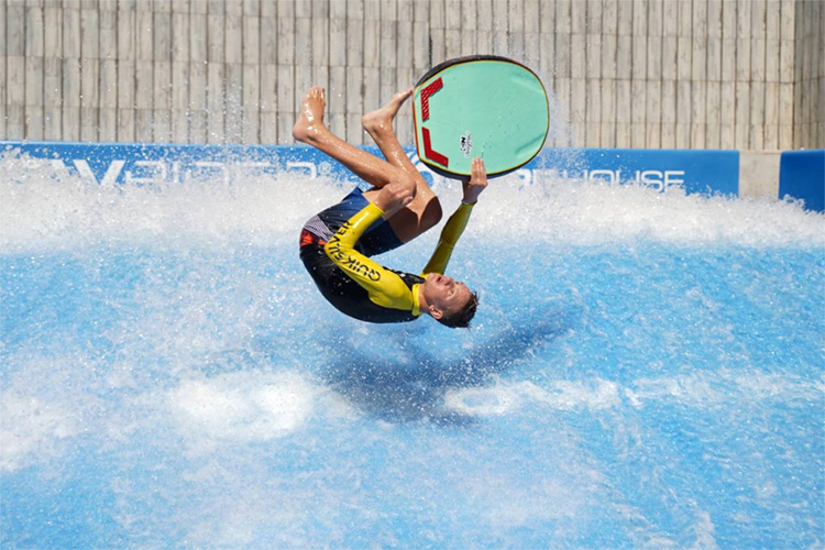 2018 World Flowboarding Championships: the bodyboarding division was quite impressive | Photo: Flowboarders