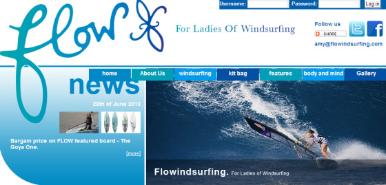 Flowindsurfing: welcome girls!