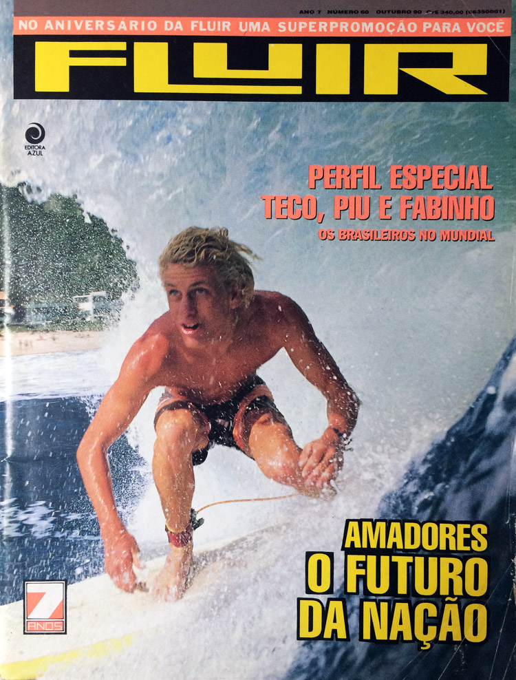 Fluir: the October 1990 issue that got me into surfing