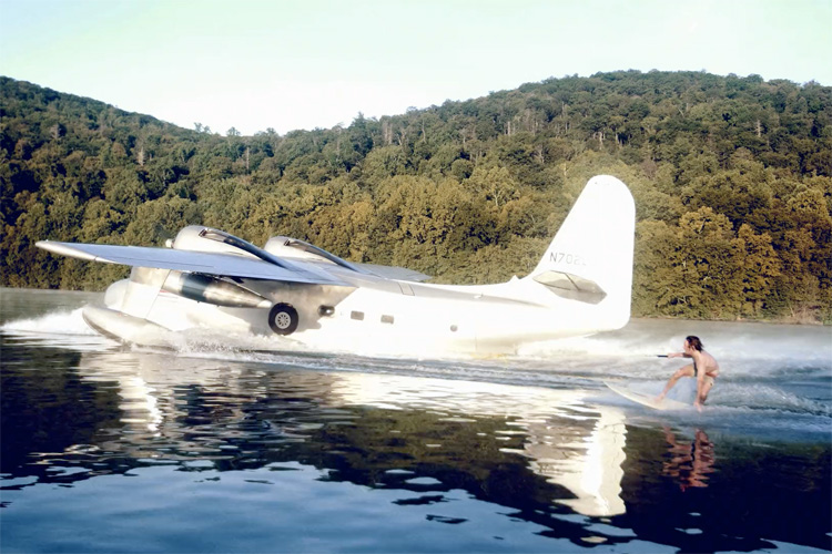 Grumman HU-16A Albatross: the next big thing in big wave surfing
