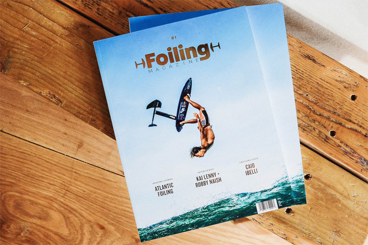 Foiling Magazine: a print and digital magazine exclusively dedicated to foiling water sports | Photo: Foiling Magazine
