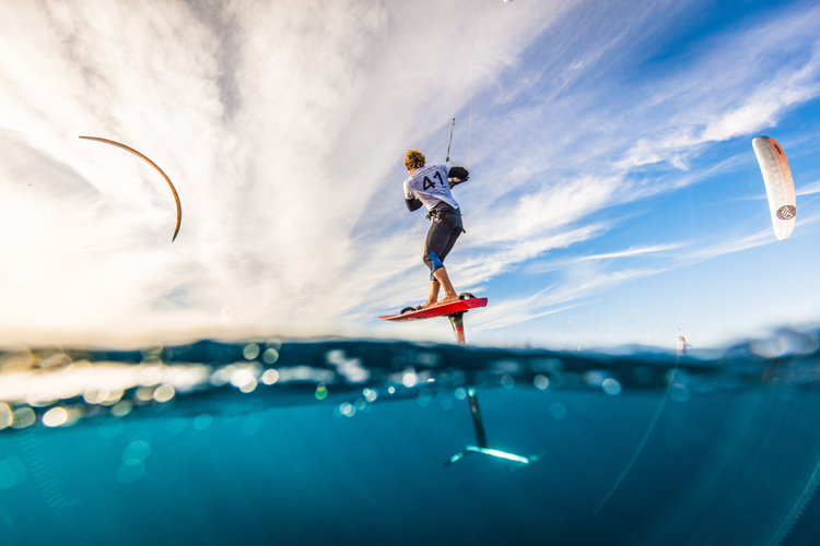Foil kiteboarding: the sport is faster than ever | Photo: Schwarz/IKA