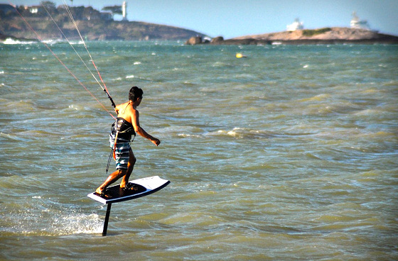Foil kiteboarding: is this the future? | Photo: Carafino