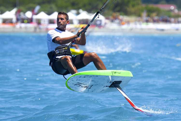 Kiteboarding: can the sport make it to the Tokyo 2020 Olympic Games? | Photo: IKA