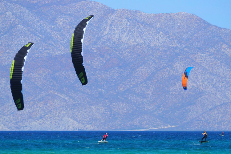 La Ventana: a great spot for kite foil boarding | Photo: Hydrofoil Pro Tour