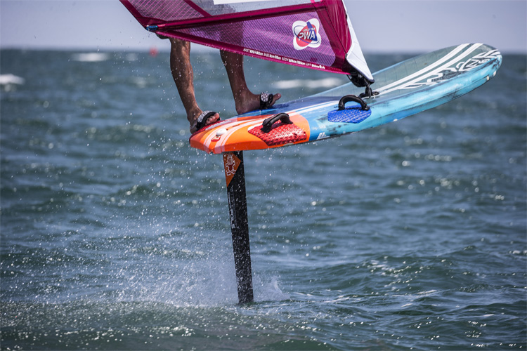 Foil windsurfing: a standalone PWA World Tour discipline in 2019 | Photo: Carter/PWA