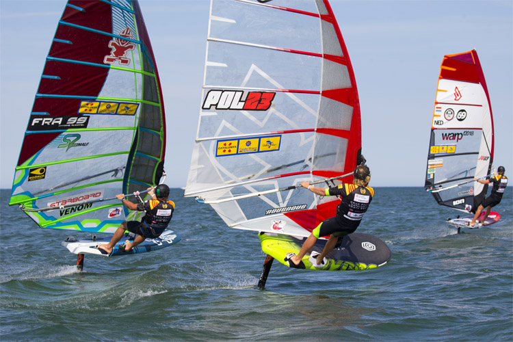 Foils: the future of windsurfing | Photo: Carter/PWA