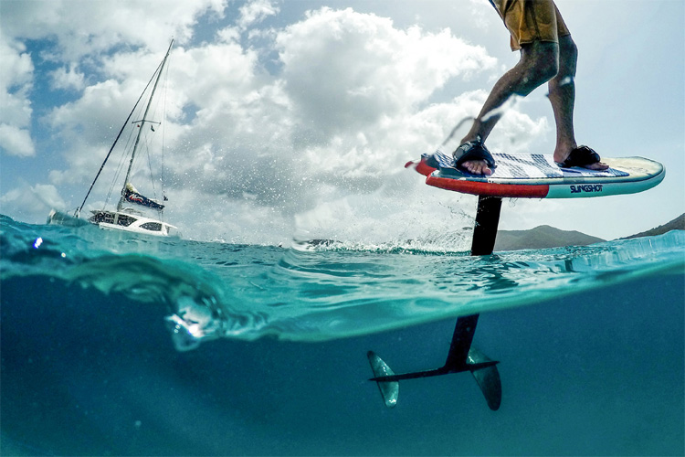 Foils: the future of kiteboarding | Photo: Slingshot