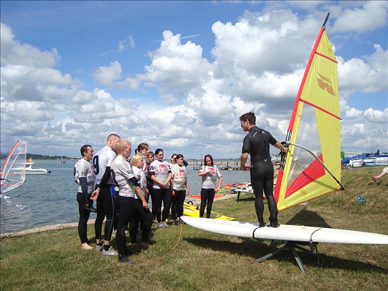 The Forces Windsurfing Challenge: 'imagine you are piloting an aircraft'