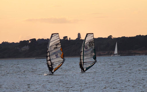 Forces Windsurfing Challenge: they were not armed