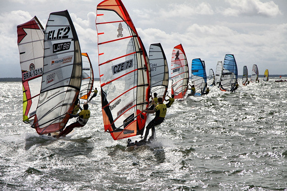 2012 Formula Windsurfing Worlds: the Lepaja marathon