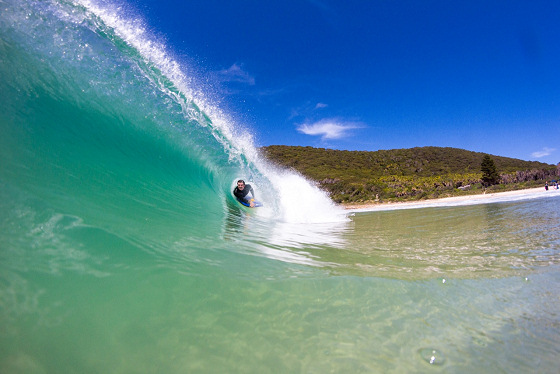 Great Lakes: the transparent wave of New South Wales | Photo: Mitchell Watson