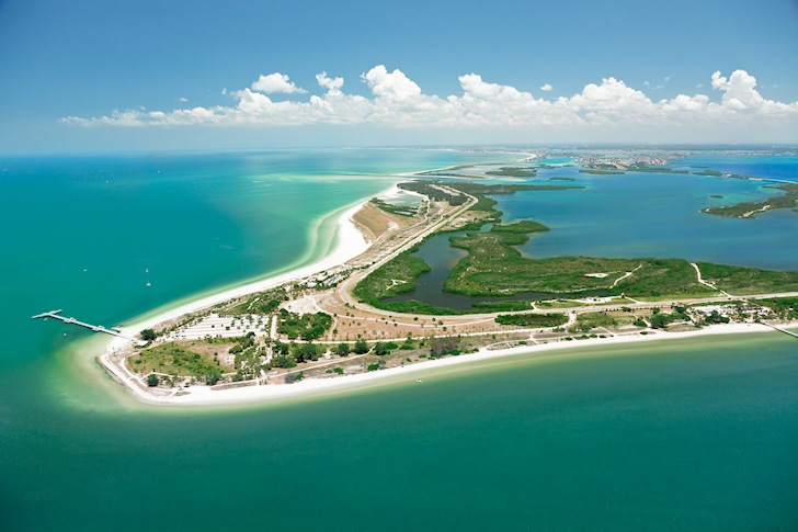 Fort de Soto Park: perfect for windsurfers | Photo: IslandParadise.com