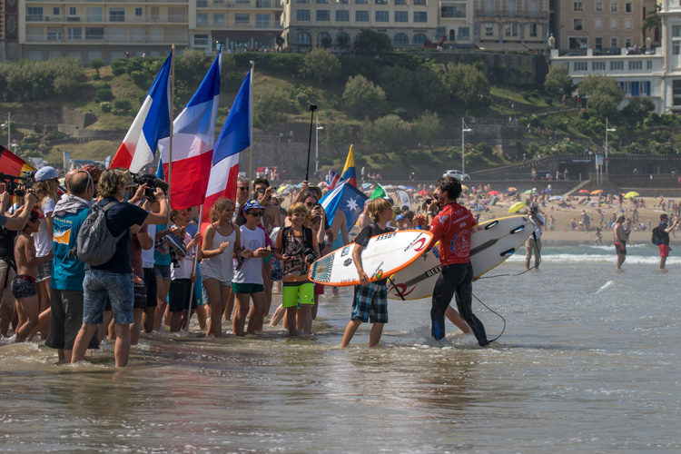 France: a country in love with surfing | Photo: Evans/ISA