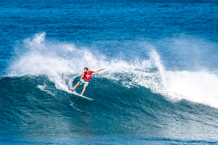 Frederico Morais: the winner of the 2019 Hawaiian Pro | Photo: TCS