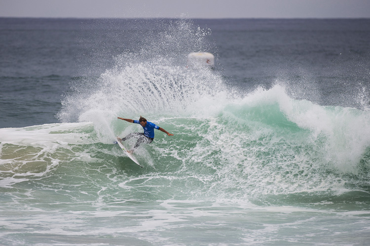 Frederico Morais: he knocked out Mick Fanning | Photo: Kirstin/WSL