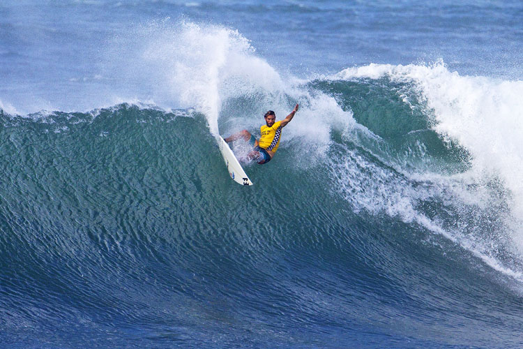 Frederico Morais: he will be the second ever Portuguese surfer on the Championship Tour | Photo: Kirstin