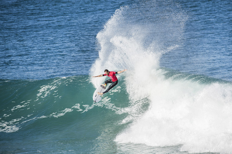 Frederico Morais: he defeated John John Florence twice at J-Bay | Photo: Tostee/WSL