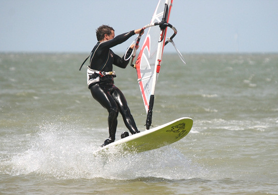 Freestyle windsurfing: not as easy as it may seem
