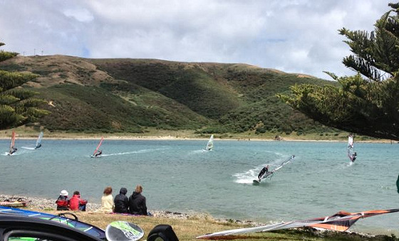New Zealand Freestyle Nationals: strong winds and great sights
