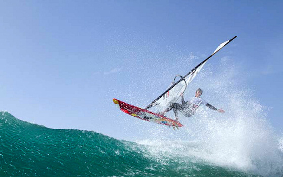 Fuerteventura Wave Classic 2012: watch where you land