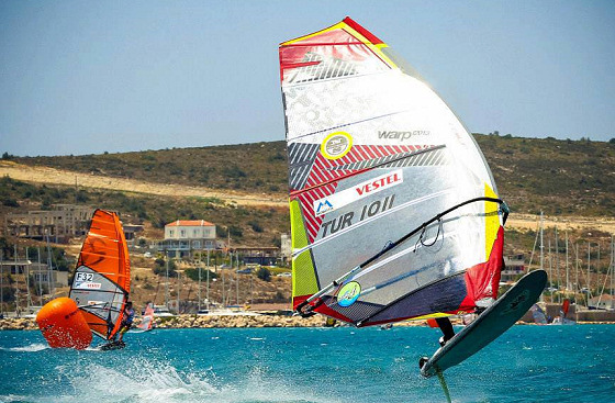 Funboard: planing with only 7 knots of wind