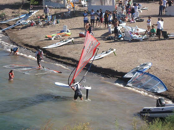 FW Worlds in Mendoza, Argentina: 'this sail is heavy...'