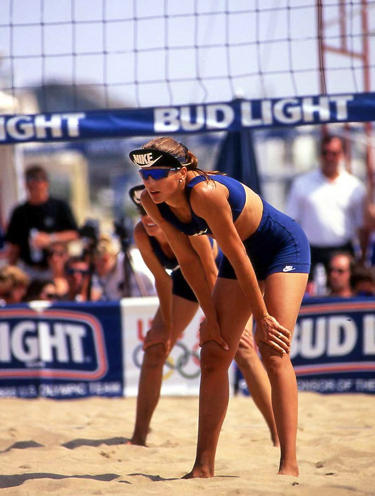 Gabrielle Reece: she is a former professional volleyball player | Photo: Reece Archive