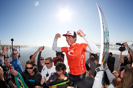 Gabriel Medina: getting used to success