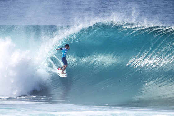 Gabriel Medina: celebrating the perfect barrel