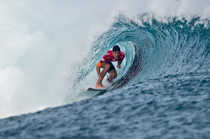 Gabriel Medina: he doesn't want to leave Cloudbreak