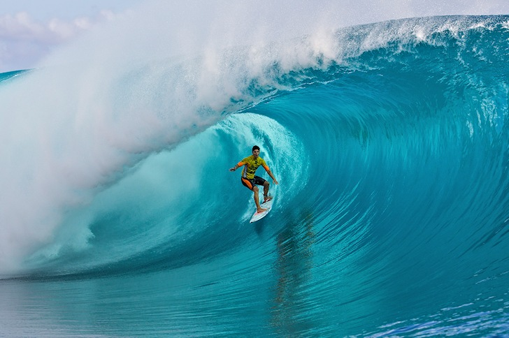 Gabriel Medina: three Teahupoo titles | Photo: ASP/Kirstin