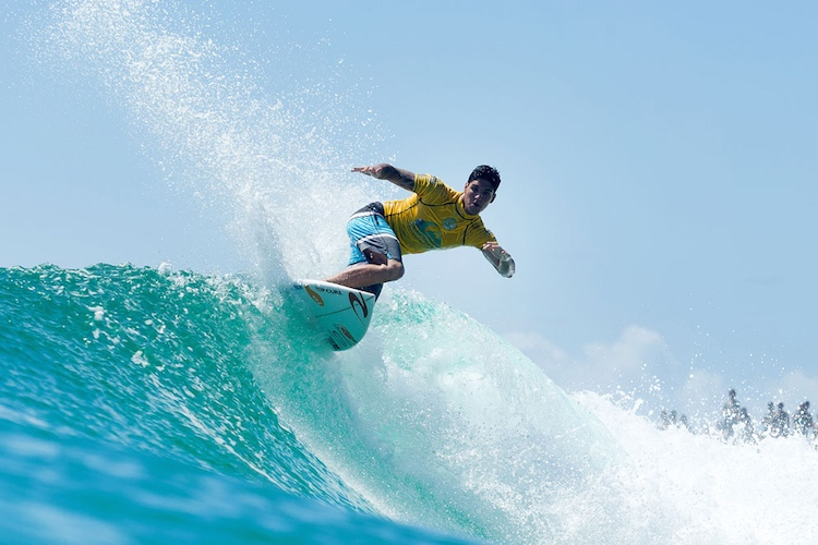 Gabriel Medina: fired up | Photo: Cestari/WSL