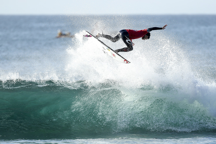 Gabriel Medina: his airs are paying off | Photo: Cestari/WSL