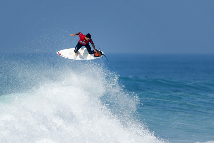 Gabriel Medina: eyeing his third Quiksilver Pro France trophy | Photo: Poullenot/WSL