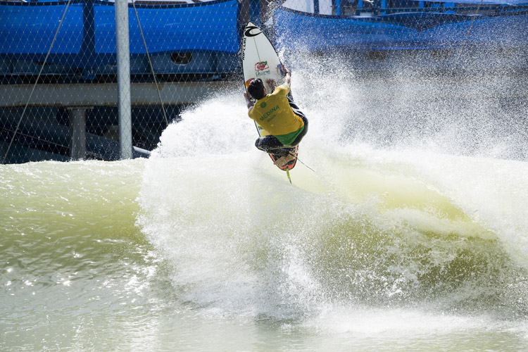 Gabriel Medina: he scored the highest score in the final | Photo: WSL