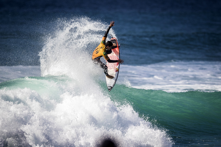 Gabriel Medina: he needed a win in Peniche | Photo: Poullenot/WSL
