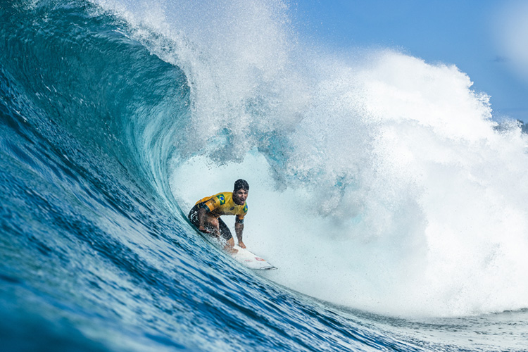 World Surf League: Gabriel Medina will defend his Championship Tour title in 2019 | Photo: Sloane/WSL