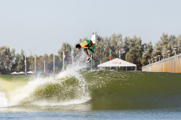 Gabriel Medina: a back-to-back win at the Surf Ranch | Photo: Van Kirk/WSL