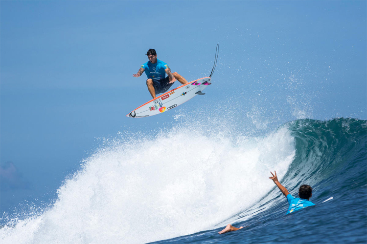 Gabriel Medina: one of the highest-paid pro surfers of the decade 2010-2019 | Photo: WSL